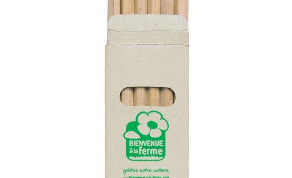 Boite cartonnée de 6 mini-crayons