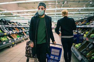 Masques et supermarchés